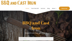 BBQ and Cast Iron